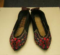 民国时期花布鞋