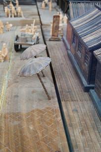木雕清明上河图商铺