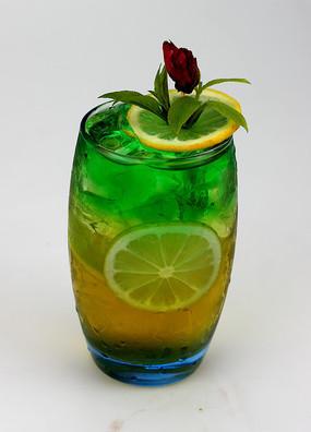 柠檬苹果薄荷清饮