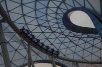 上海迪士尼乐园创极速光轮摩托