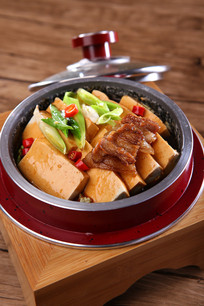 石锅浓汤老豆腐