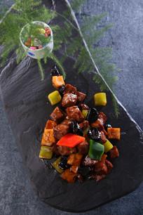 铁板黑椒汁牛柳