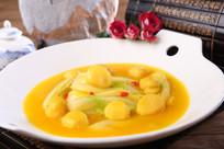 蟹黄板栗奶白菜