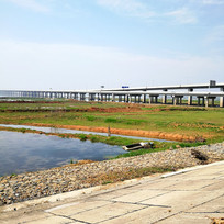 石臼湖大桥风景