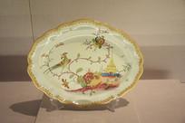 花鸟纹瓷盘