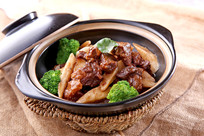 咖喱芝士牛腩煲