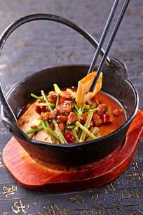 石锅老豆腐