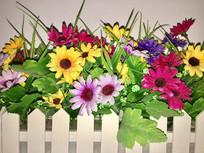塑料装饰花
