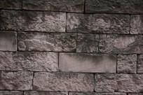 灰色的旧砖背景图