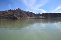 宁静的拉萨河