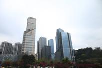 城市里的高楼