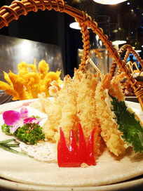 日式天妇罗炸虾