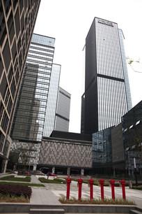 商业化大楼区