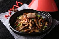 石锅鲜香菇