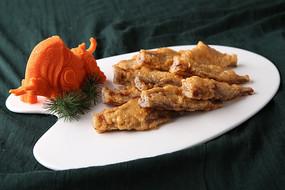蒜香马面鱼