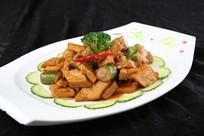 豆腐焖酿尖椒
