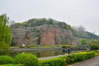 南京石头城公园风景