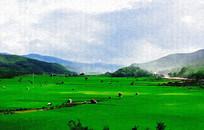 大草原风景