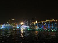 城市亮化夜景图片