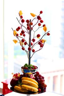 创意水果拼盘素材