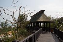 海南文昌月亮湾滨海建筑