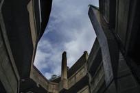 钢筋水泥老厂房