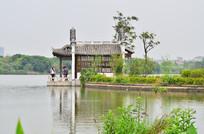 广州海珠湖风景图片