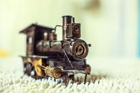 一个道具火车