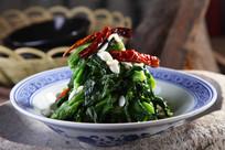 油菜苔拌杏仁