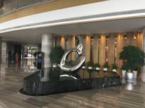 酒店大厅雕塑图片