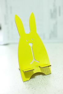 可爱小黄兔手机支架