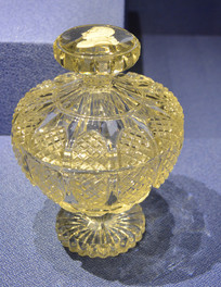 欧洲刻莫扎特头像玻璃酒瓶