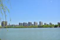 单县湖光城市风景