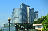 美丽的高楼大厦风景图片