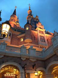 上海迪士尼乐园城堡
