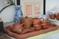 紫砂茶套具