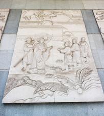 浮雕古代故事