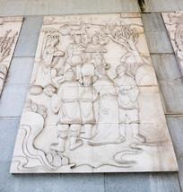 浮雕梧州古代故事