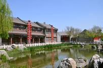 古典传统式庭院