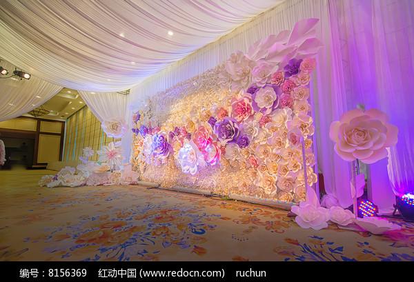 花艺婚礼背景图片
