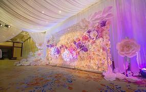 花艺婚礼背景