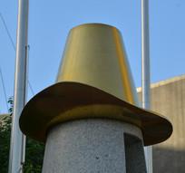 帽子雕塑藏族帽