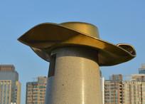 帽子雕塑牛仔帽
