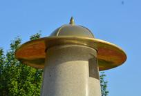 帽子雕塑宋代士兵帽