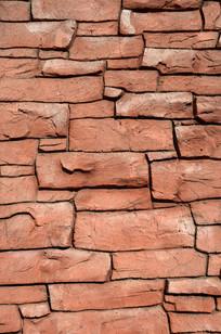 个性石头墙壁
