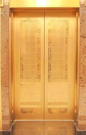 不锈钢电梯对开门