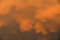 黄色的浓云