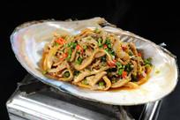 小炒河蚌肉