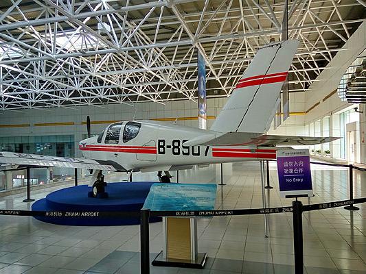 展厅飞机模型