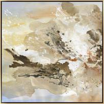 抽象山水风景装饰画